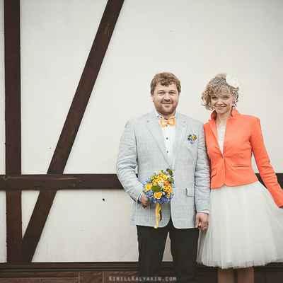 Orange real weddings