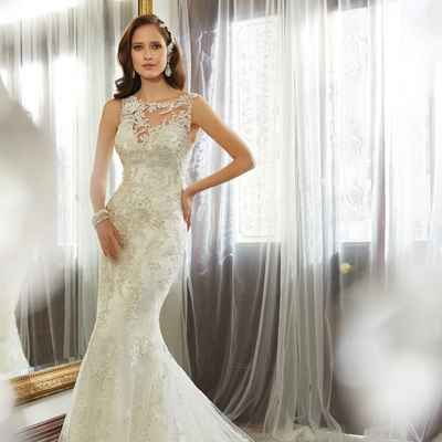European long wedding dresses