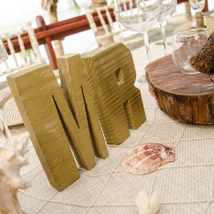 Vintage Rustic Bay Wedding-Ubeida & Tony