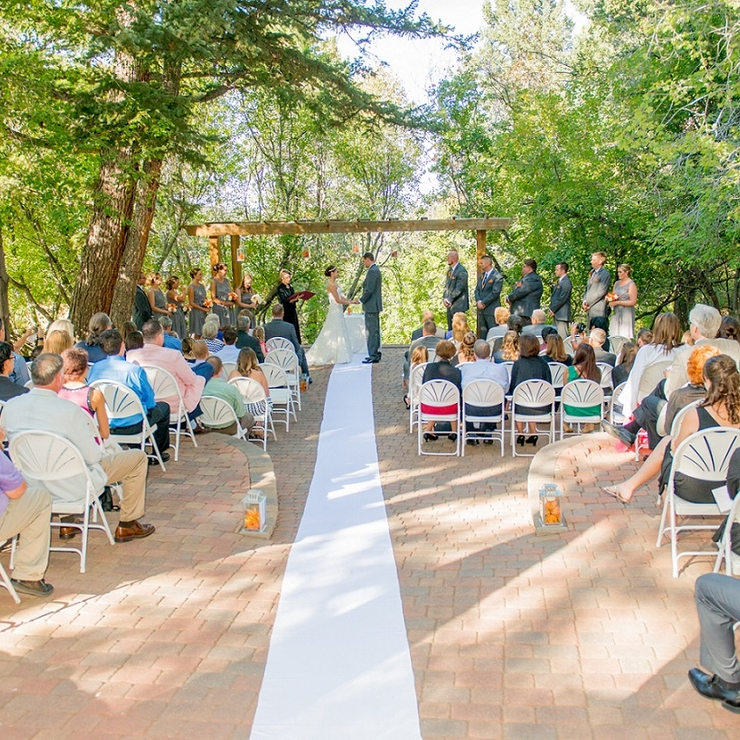 Aspen Wedding Terrace