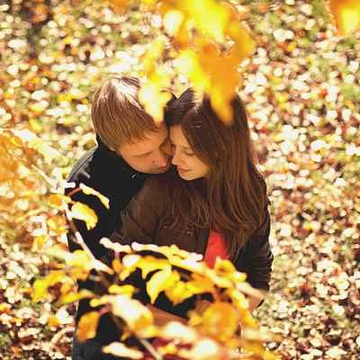 Autumn engagement