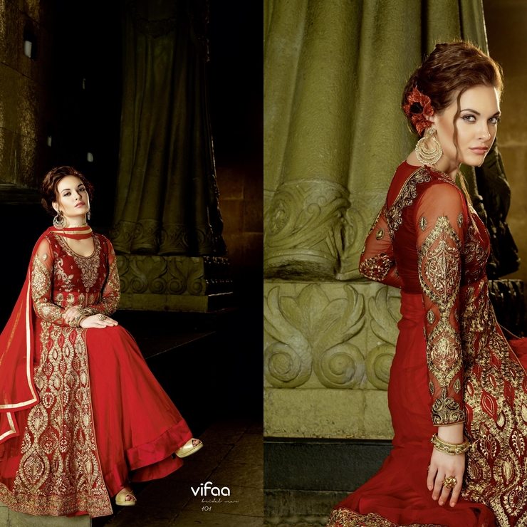 bridal anarkali suits