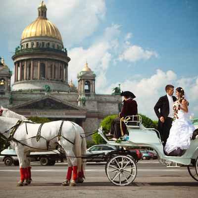 Overseas wedding transport
