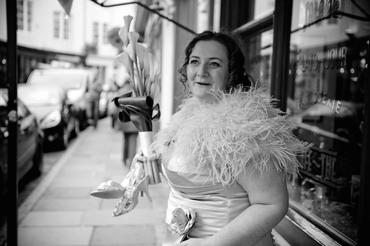 Vintage closed wedding dresses