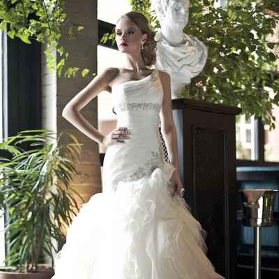 Mediterranean open wedding dresses