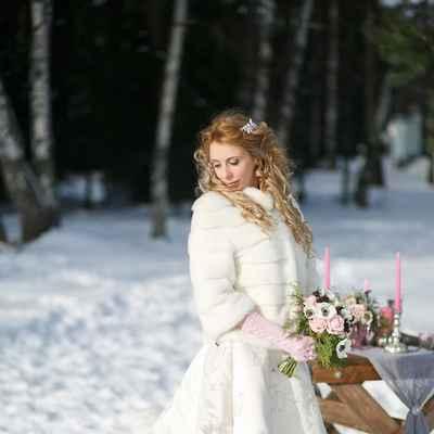 Winter real weddings