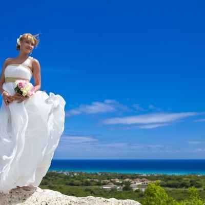 Mediterranean open wedding dresses