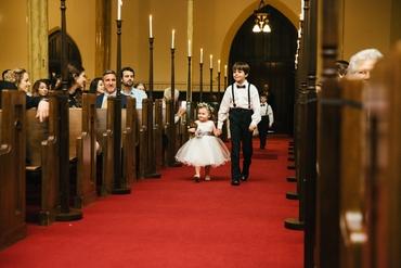 Overseas kids at wedding