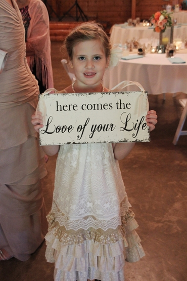 Overseas ivory kids at wedding