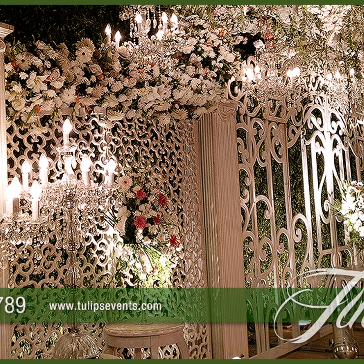 Creative Wedding Gate Stage