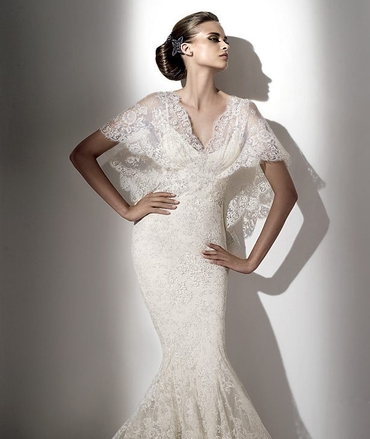 French corset wedding dresses