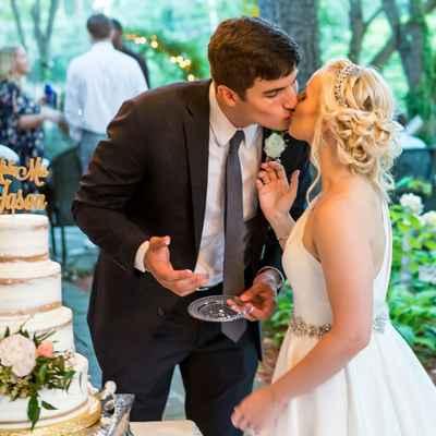 Outdoor wedding cakes