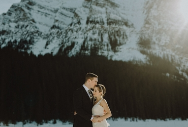 Winter wedding photo session ideas