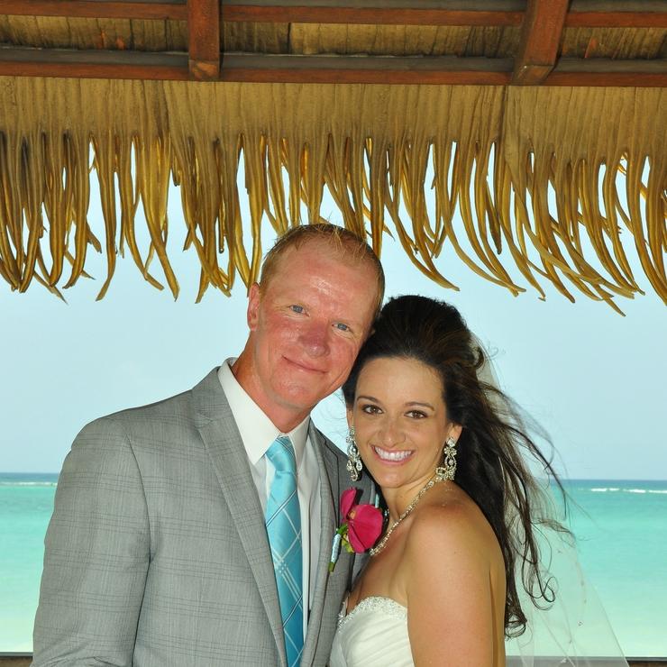 Jennifer & Michaels destination wedding at Sandals Whitehouse, Jamaica