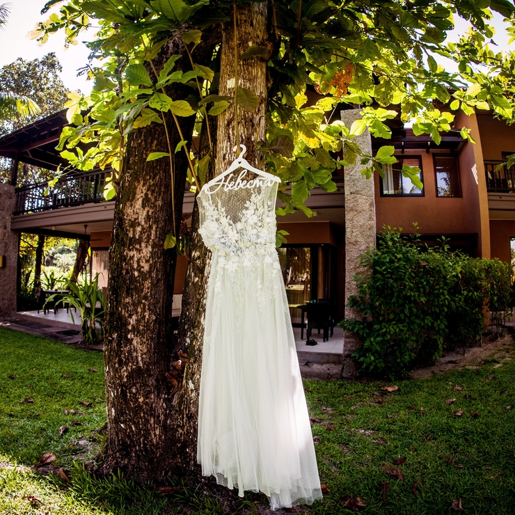 Wedding ceremony in Seychelles
