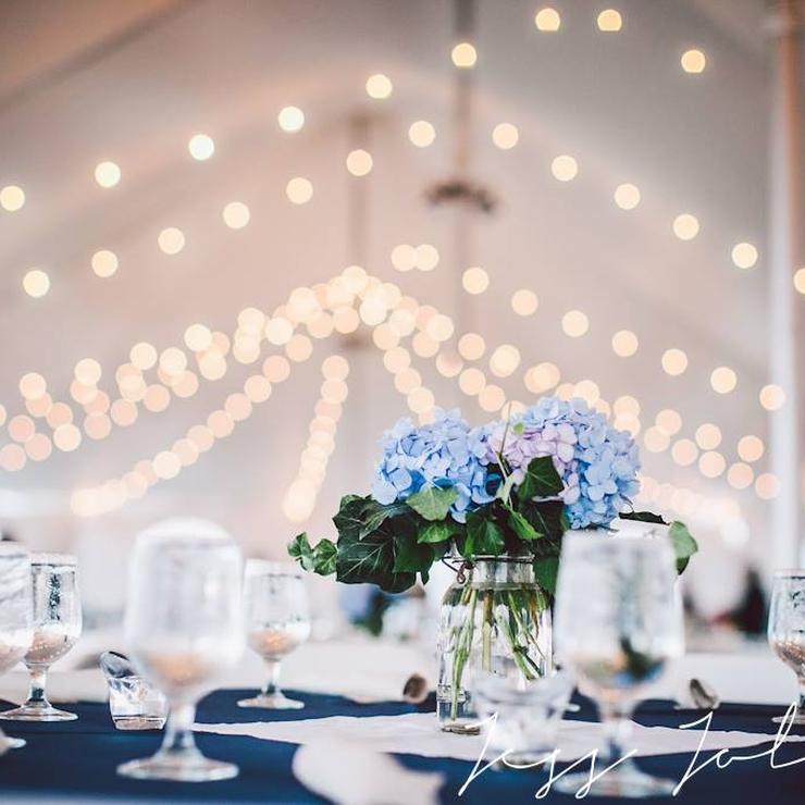 Coastal, tented wedding.  Photo by Jess Jolin Photography