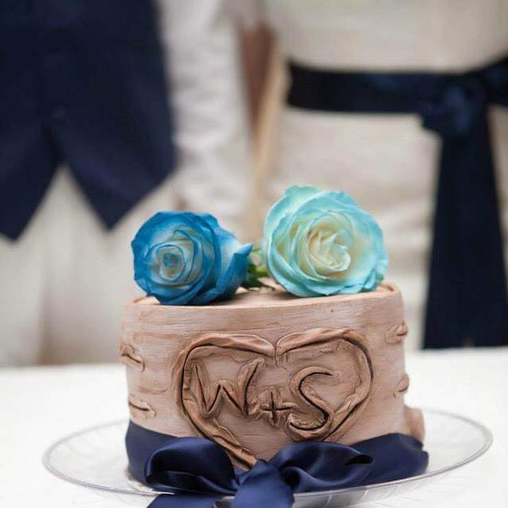 Carved Stump Cake