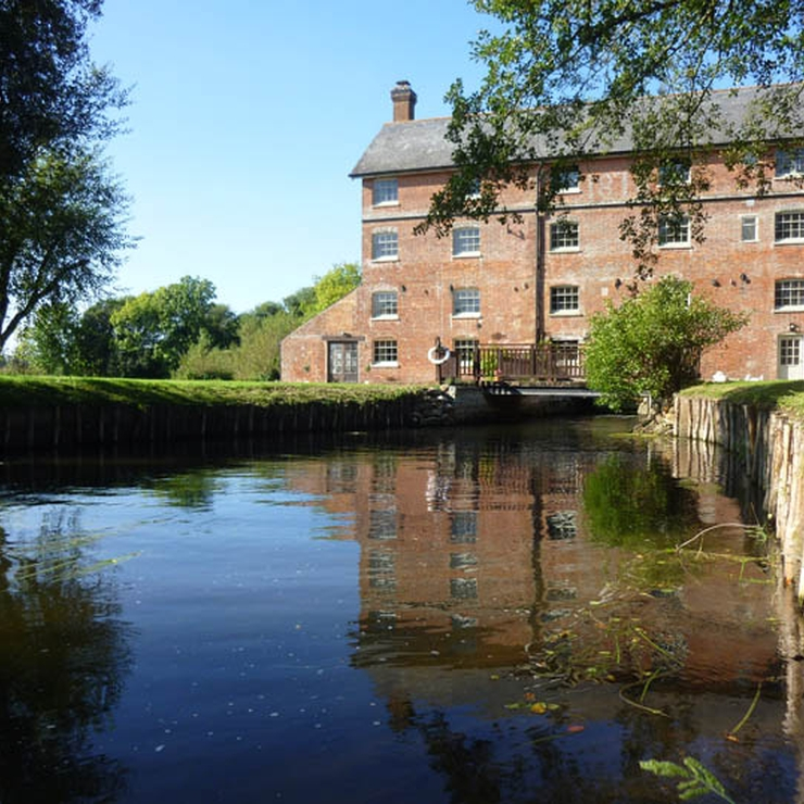 SopleyMill & the Mill Stream