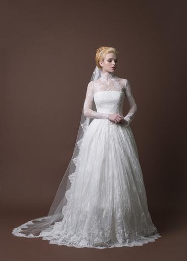 English bridal style