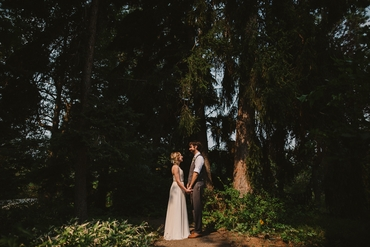 Outdoor ivory long wedding dresses