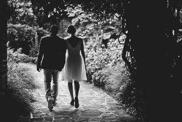 Outdoor short wedding dresses
