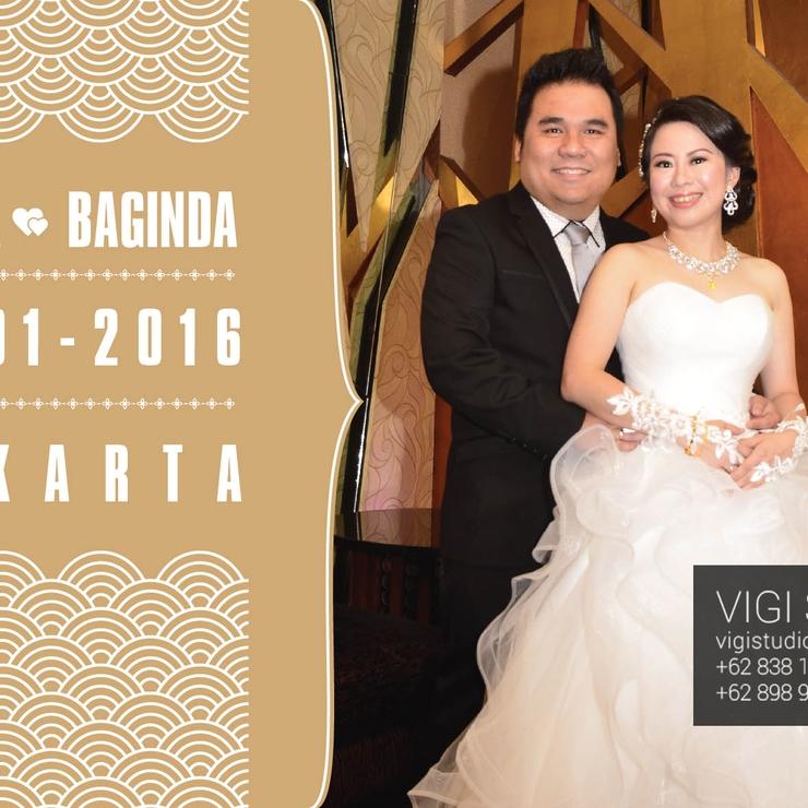 The Wedding Imelda & Baginda in Circo Room , The Sense Restaurant Jakarta