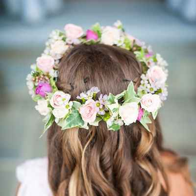 Summer long wedding hairstyles