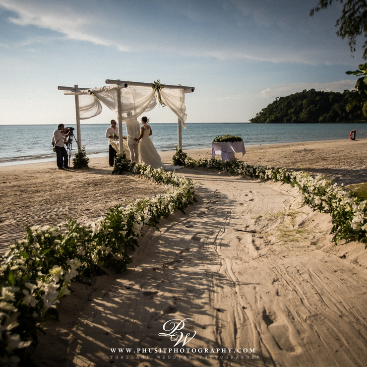 WEDDING IN KOH KOOD ,THAILAND