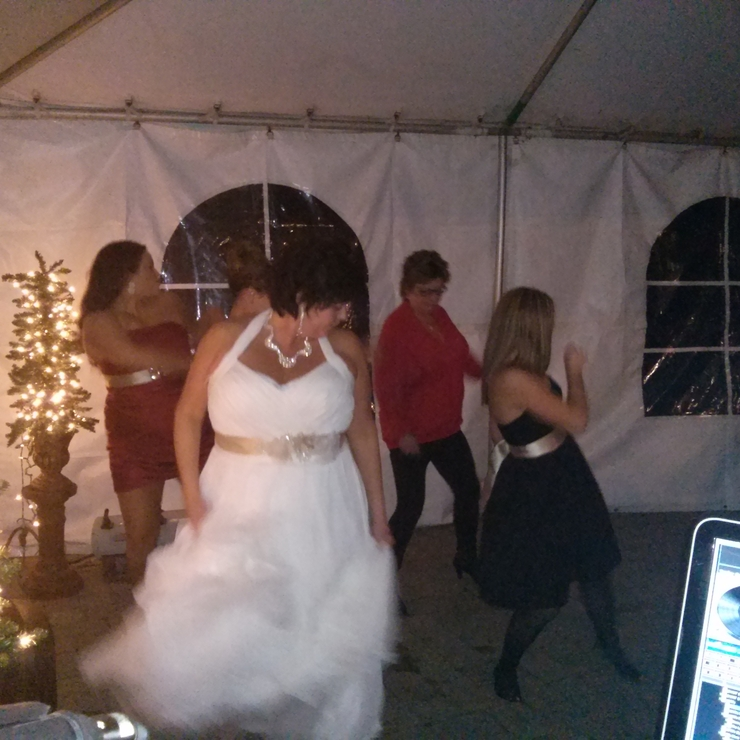 Mr and mrs Donovan wedding. Entertainment provided by dj timdogg entertainment