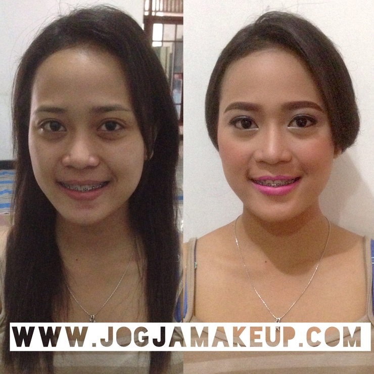 Makeup & Hairdo for Bridesmaid