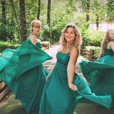 Green real weddings