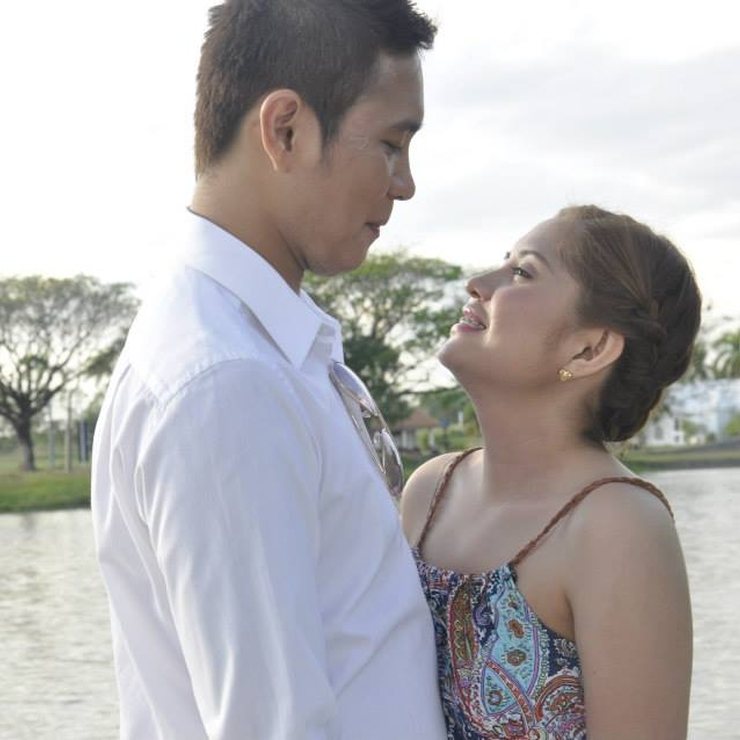 Khen & Ayah's E-Session @ Lakeshore Pampanga