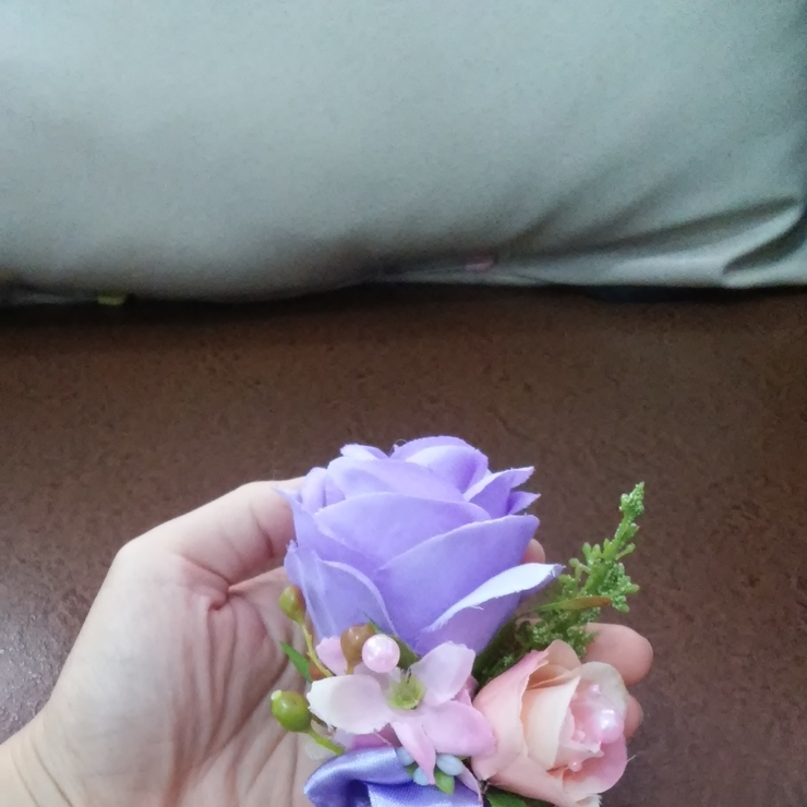 hani wedding bouquet