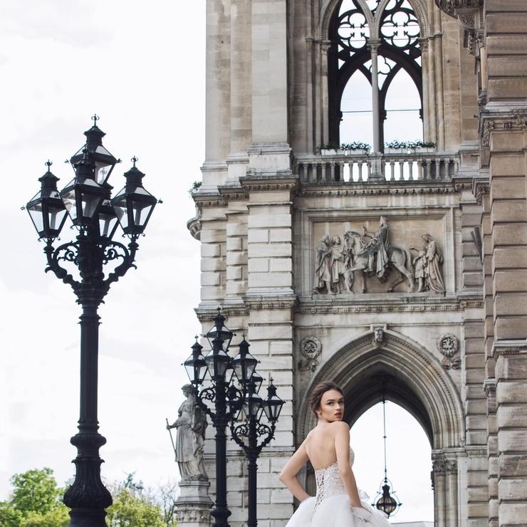 Dress 10017 Emilia Collection Wiedenhttp://katherinejoyceparis.com/en/products/view/10017-emilia.htm