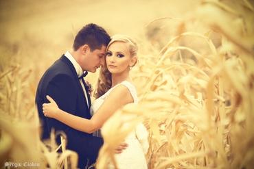 Outdoor autumn real weddings