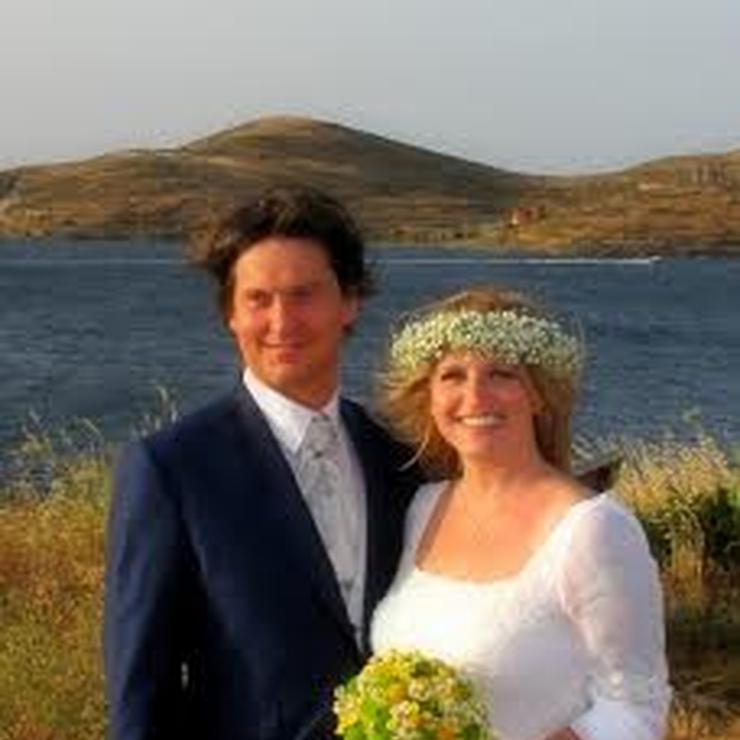 Santorini wedding bouquest
