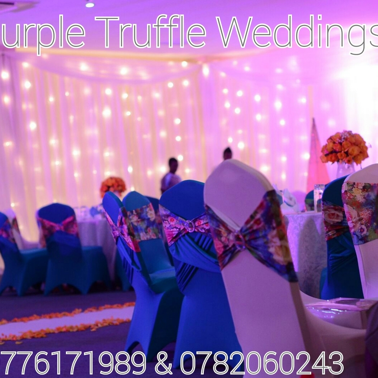 Kenneth & Samalie's indoor wedding