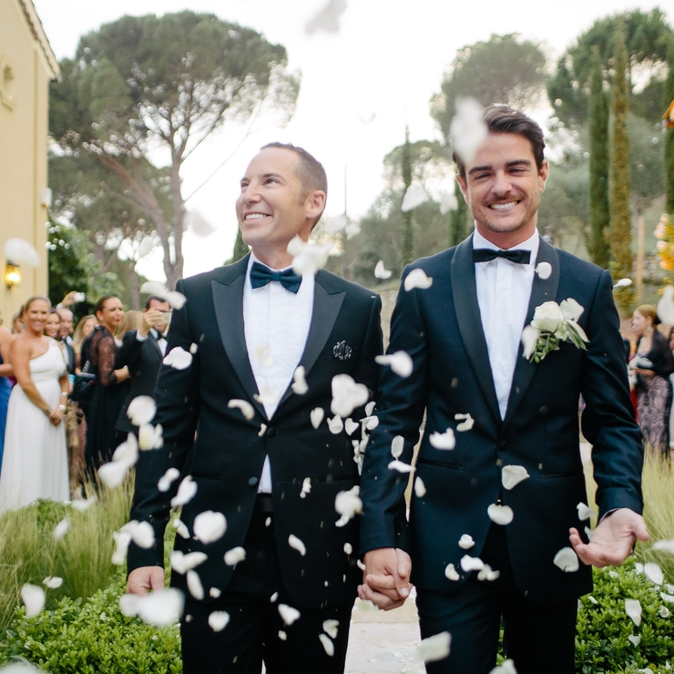 Mathew and Edward - Gay wedding - in St Tropez France