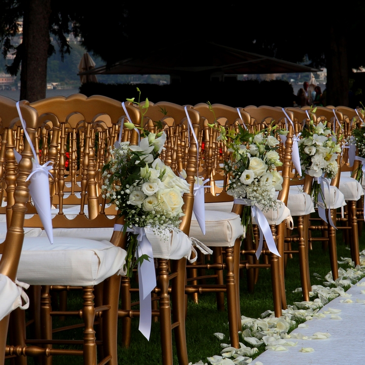 Lake Como wedding at Villa d'Este