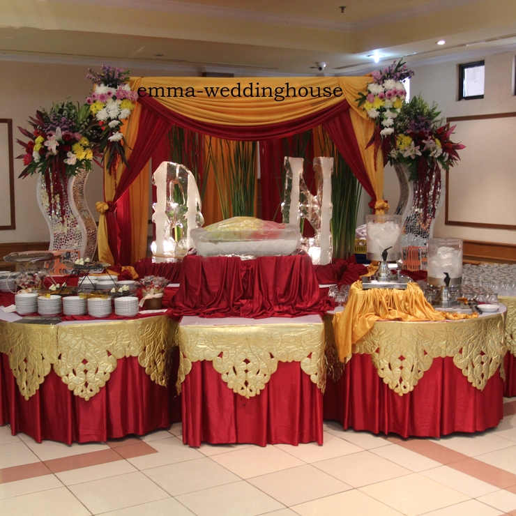 catering decorations/dekorasi catering