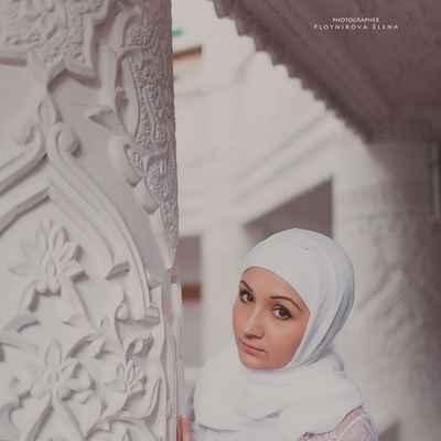 Ethnical bridal style