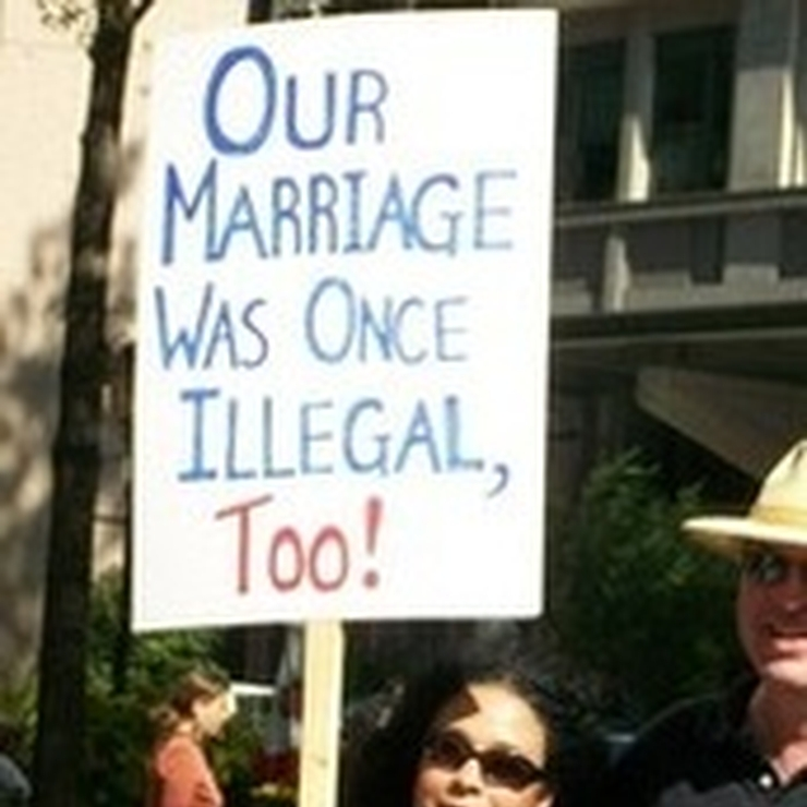 Our Marriage Was Once Illegal, Too!