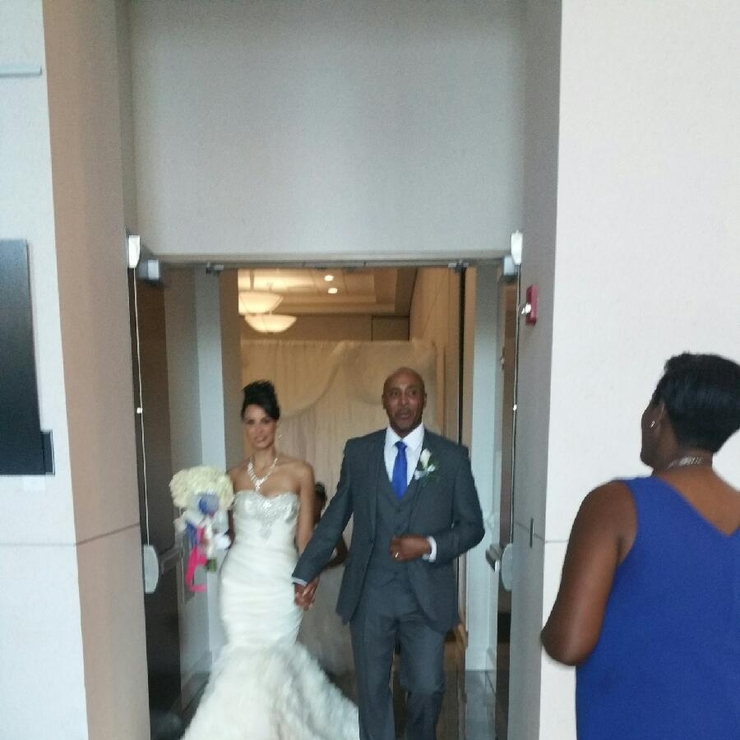 Ernest and Ashley Burnley August 22, 2015