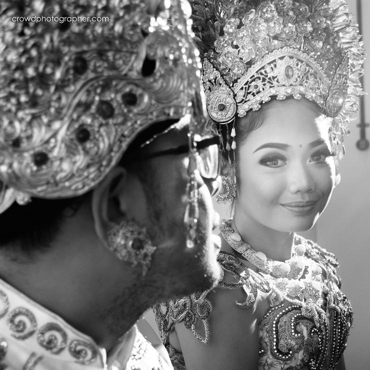 Balinese royal wedding