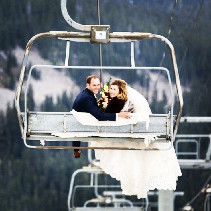 Robby and Carries wedding at White Pass. Kira Baron photography