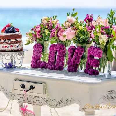 Overseas white wedding ceremony decor