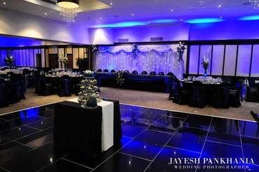 European wedding reception decor