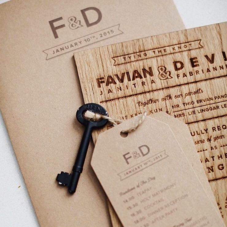have fun go rustic - favian & devi