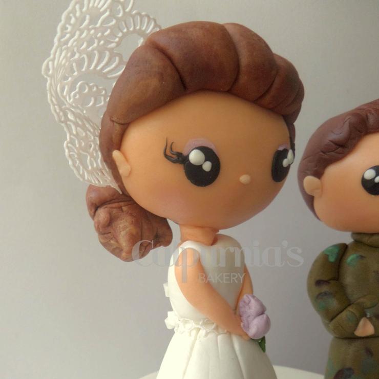 Hunter wedding cake