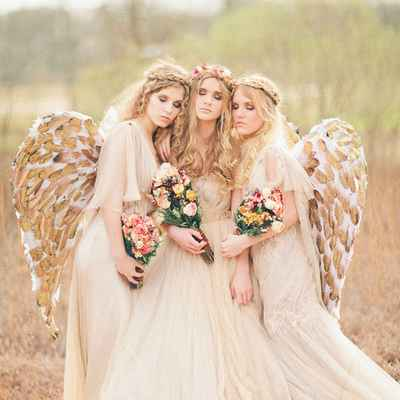 Themed summer real weddings
